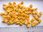 Freeze Dried Yellow Peach pieces